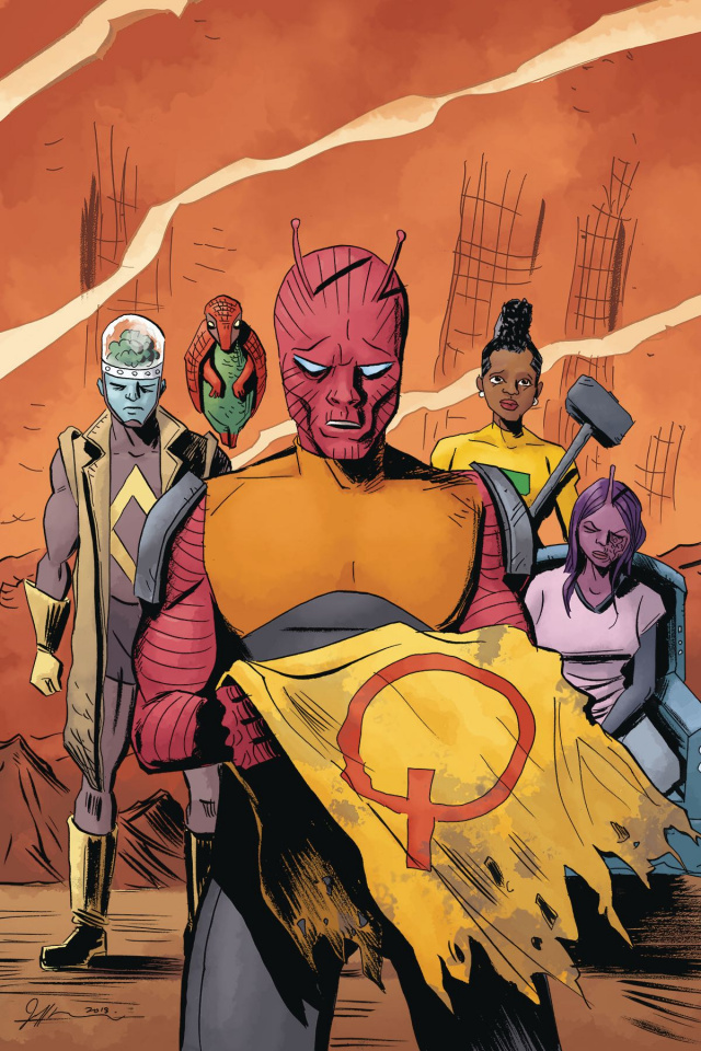 Quantum Age: From the World of Black Hammer #6 (Lemire Cover)