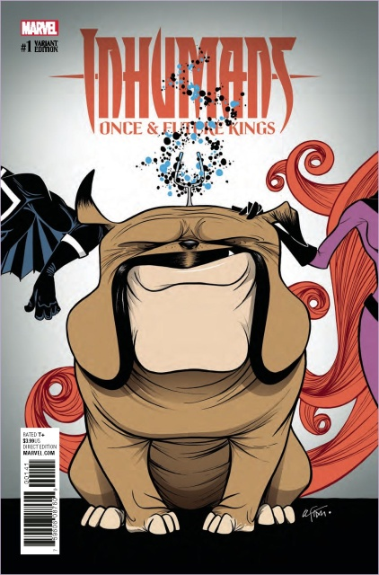 Inhumans: Once & Future Kings #1 (Duarte Lockjaw Cover)