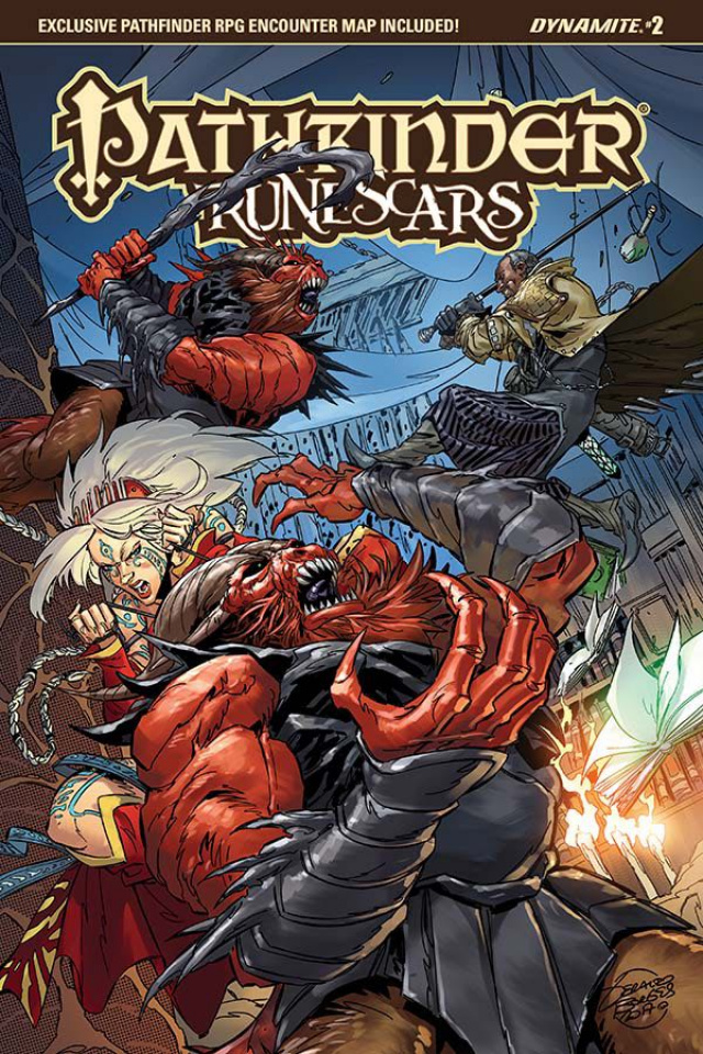 Pathfinder: Runescars #2 (Borges Cover)