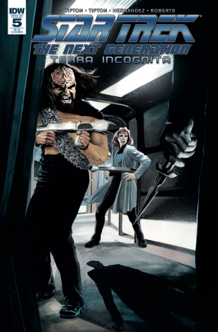 Star Trek: The Next Generation - Terra Incognita #5 (25 Copy Woodward Cover)