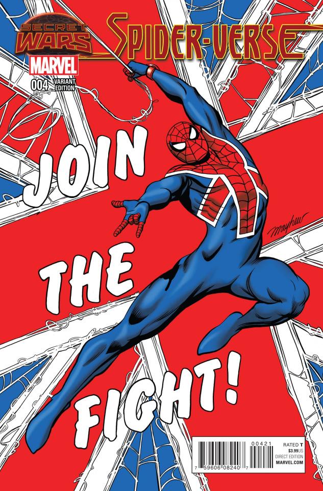 Spider-Verse #4 (Mayhew Cover)