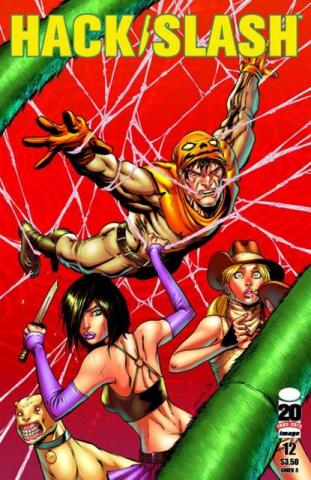 Hack/Slash #12 (Seeley & Englert Cover)