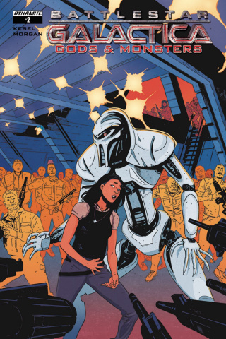 Battlestar Galactica: Gods & Monsters #2 (Morgan Cover)