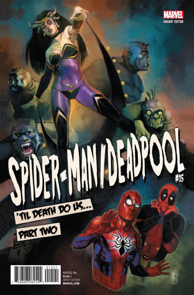 Spider-Man / Deadpool #15 (Reis Poster Cover)
