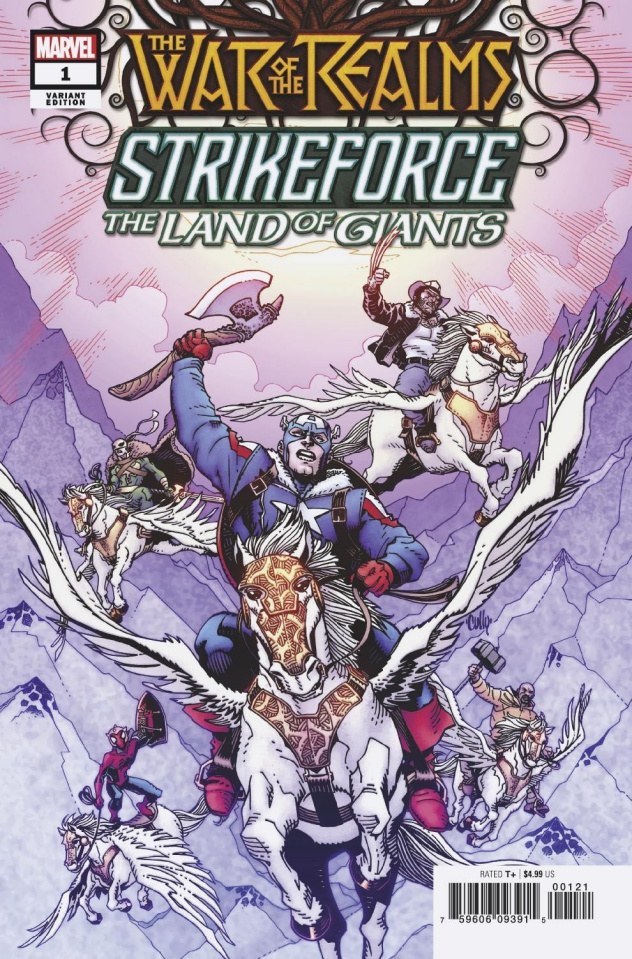 The War of the Realms: Strikeforce - The Land of Giants #1 (Hamner Cover)