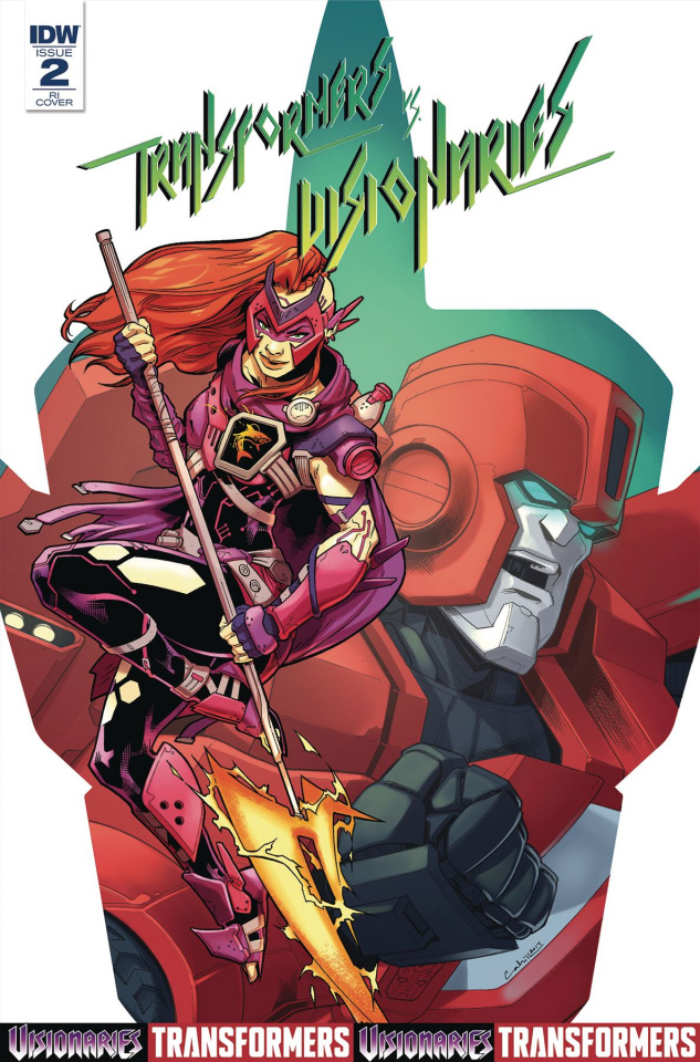 The Transformers vs. The Visionaries #2 (Murphy Cover)