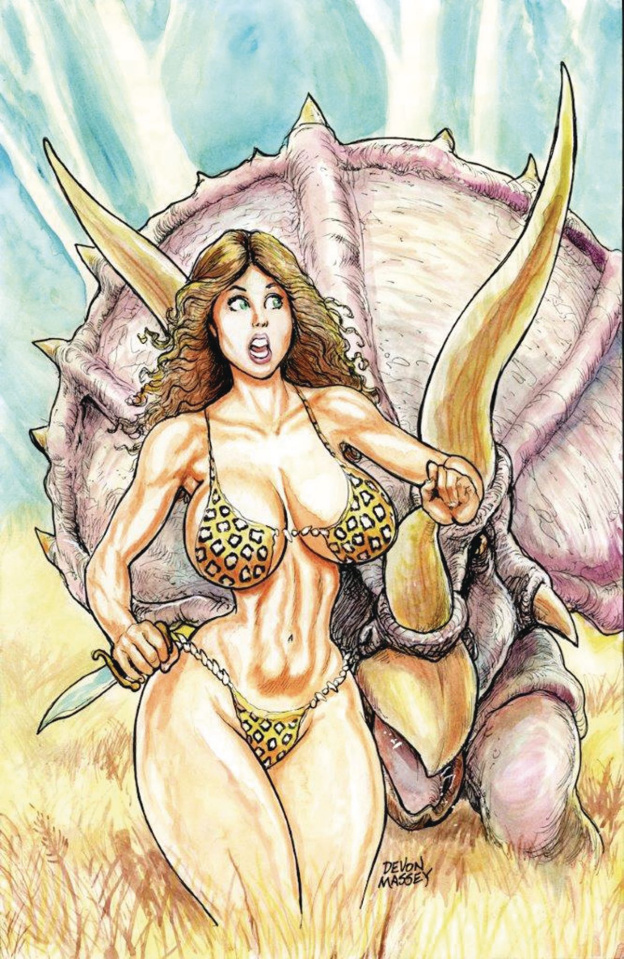 Cavewoman: Lost #1 (Massey Cover)
