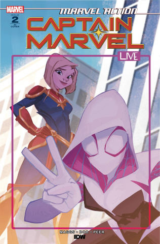 Marvel Action: Captain Marvel #2 (10 Copy Kaela Lash Cover)