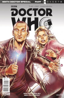 Doctor Who: New Adventures with the Ninth Doctor, Year Two #1 (Melo Cover)