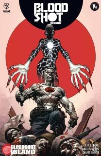 Bloodshot: Reborn #14 (Giorello Cover)