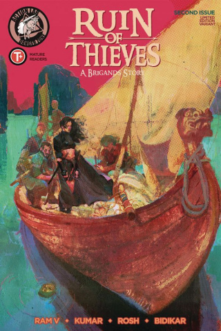 Ruin of Thieves: A Brigand's Story #2 (Radhakrishnan Cover)