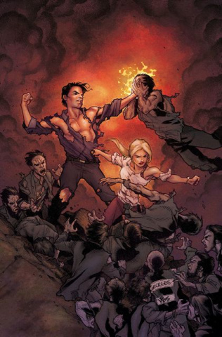 Buffy the Vampire Slayer, Season 9: Freefall #3 (Jeanty Cover)