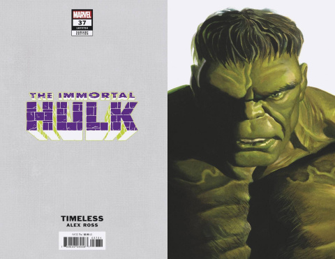 The Immortal Hulk #37 (Alex Ross Hulk Timeless Cover)