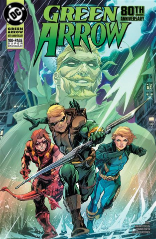 Green Arrow 80Th Anniversary 100-Page Super Spectacular #1 (Howard Porter 1990s Cover)