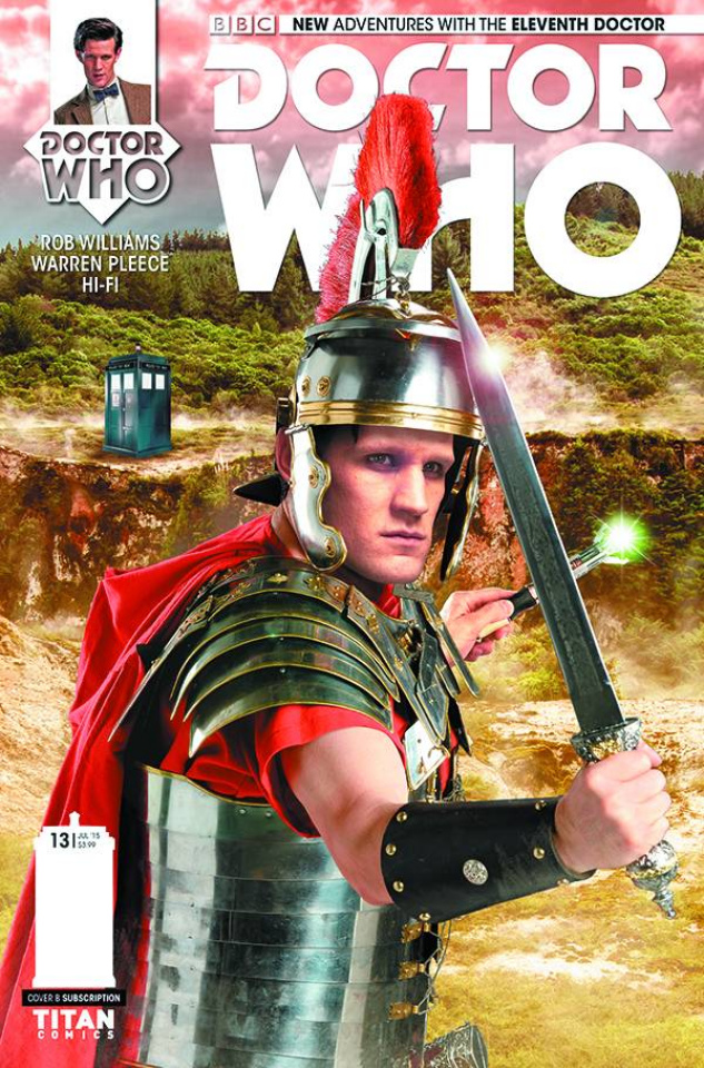 Doctor Who: New Adventures with the Eleventh Doctor #13 (Subscription Photo Cover)