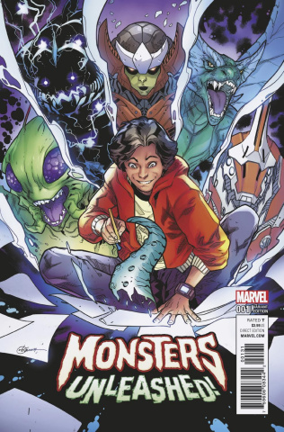 Monsters Unleashed! #1 (R.B. Silva Cover)