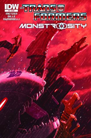 The Transformers: Monstrosity #3