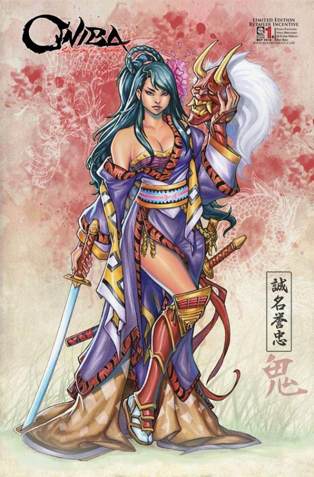 Oniba: Swords of the Demon #1 (20 Copy Cover)