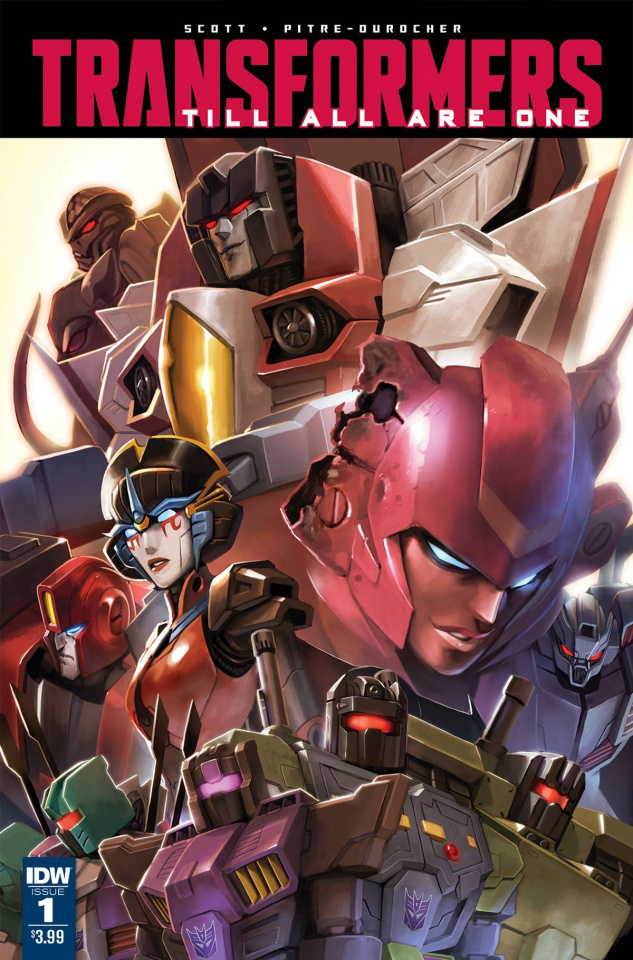 The Transformers: Till All Are One #1