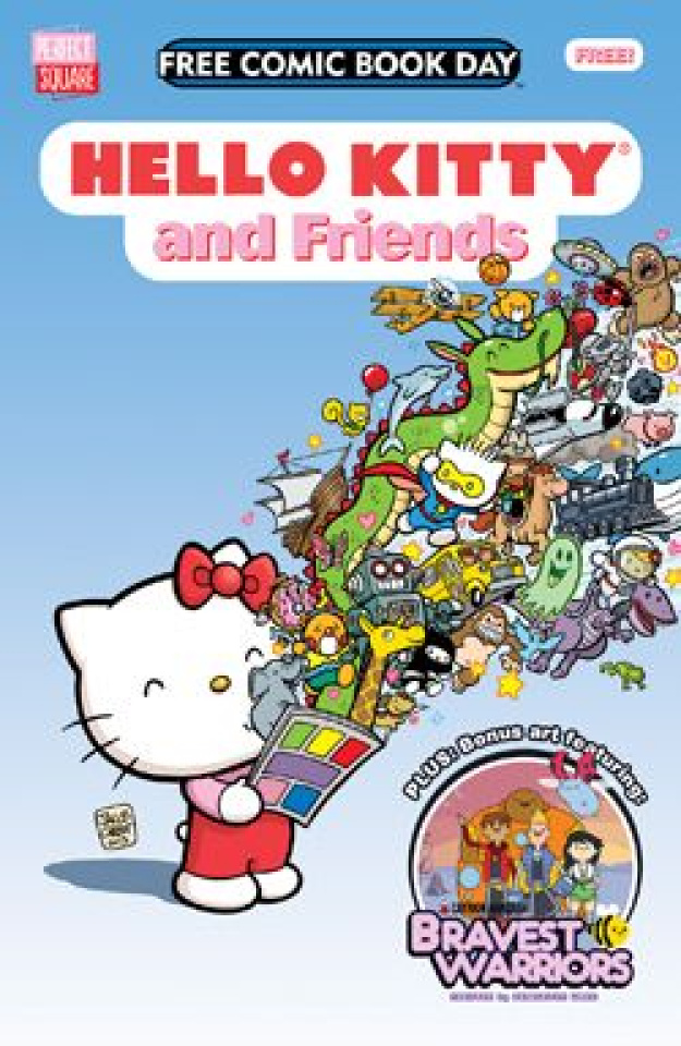 Hello Kitty and Friends (Free Comic Book Day 2014)