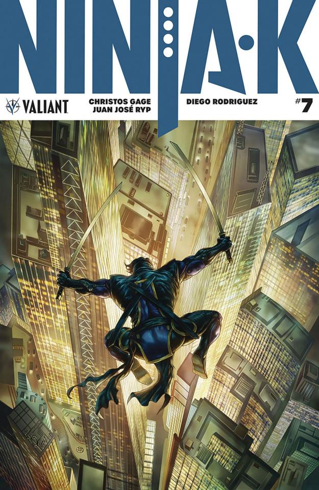 Ninja-K #7 (Quah Cover)