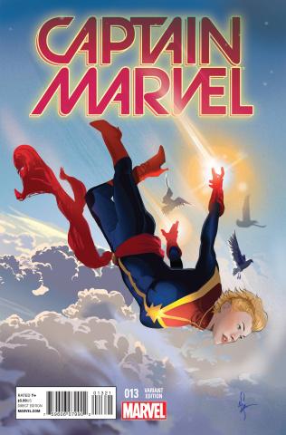 Captain Marvel #13 (Women of Marvel Richardson Cover)