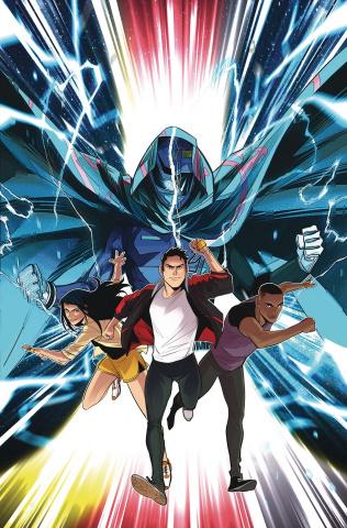 Go, Go, Power Rangers! #30 (Carlini Cover)