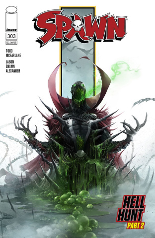 Spawn #303 (Mattina Cover)