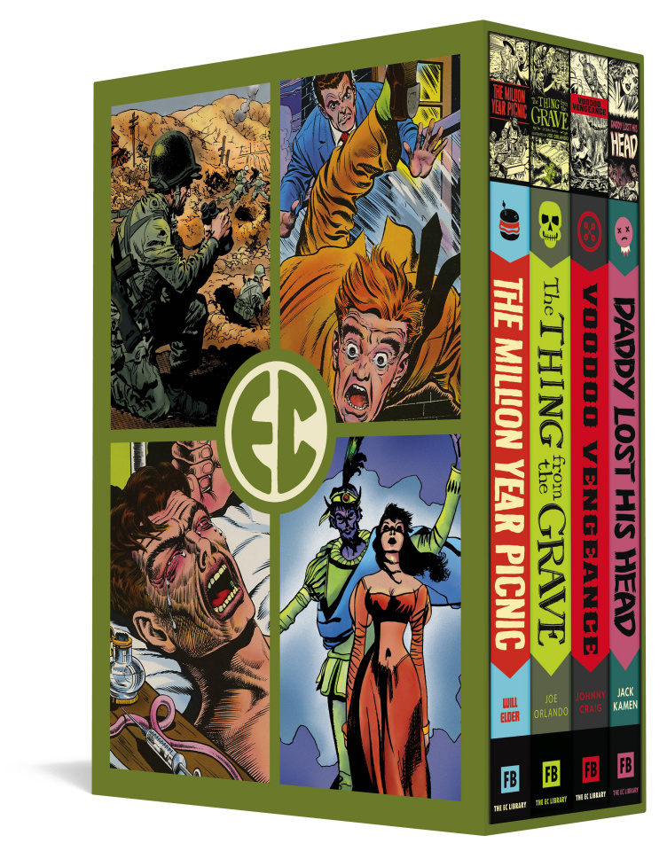 EC Comics: Four Vol. 5 (Slipcase Edition)