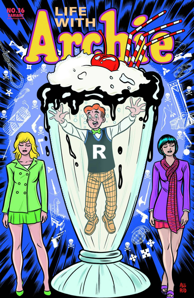 Life With Archie #36 (Mike Allred Cover)