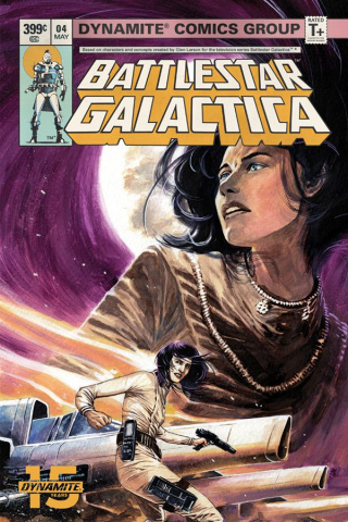 Battlestar Galactica Classic #4 (Rudy Cover)
