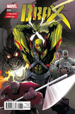 Drax #6 (Veregge Story Thus Far Cover)