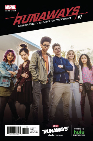Runaways #1 (Television Cover)