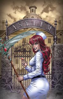 Grimm Tales of Terror #9 (Reyes Cover)