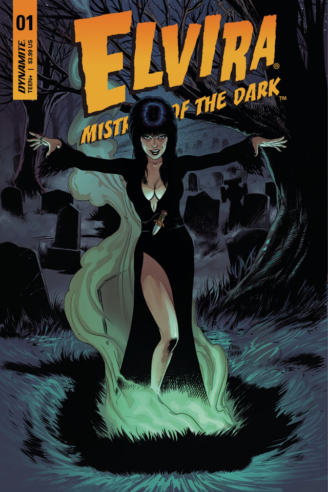 Elvira: Mistress of the Dark #1 (Cermak Cover)