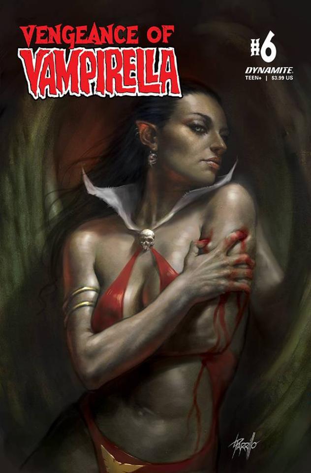 Vengeance of Vampirella #6 (CGC Graded Parrillo Cover)