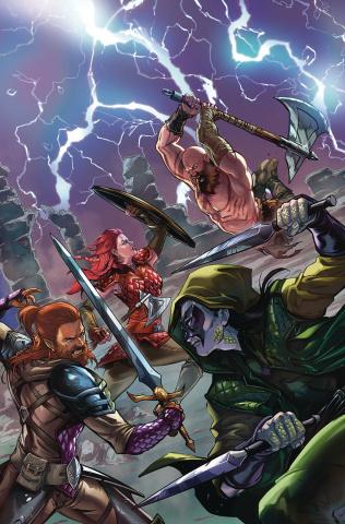 Dragonsblood #3 (Riveiro Cover)