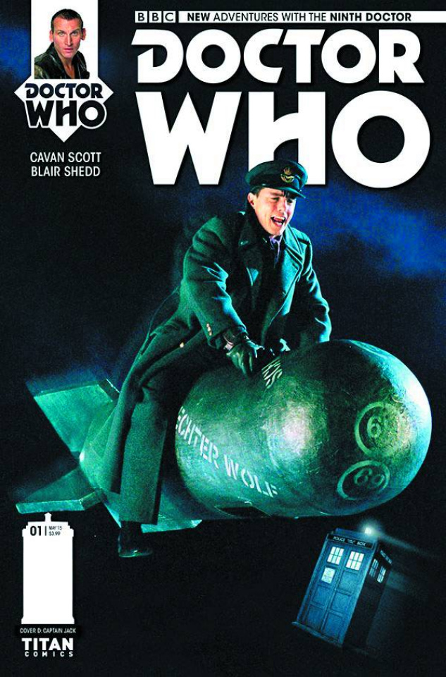 Doctor Who: New Adventures with the Ninth Doctor #1 (25 Copy Captain Jack Cover)