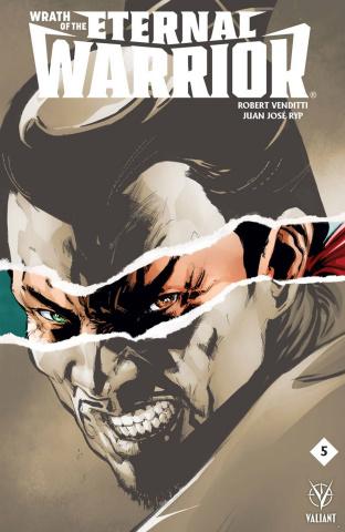 Wrath of the Eternal Warrior #5 (Jimenez Cover)