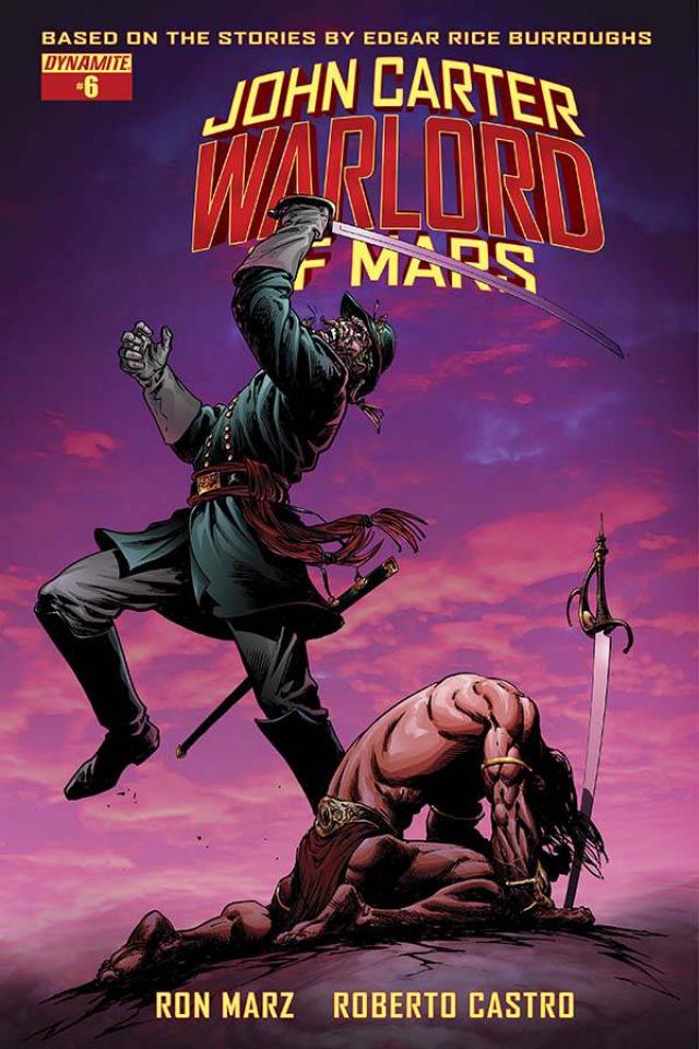 John Carter: Warlord of Mars #6 (Sears Cover)