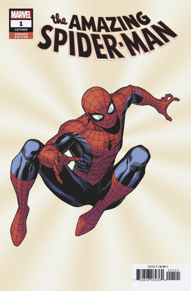 The Amazing Spider-Man #1 (Cheung Cover)