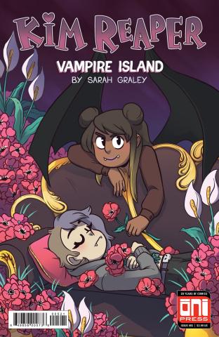 Kim Reaper: Vampire Island #1 (Farina Cover)