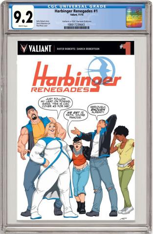 Harbinger: Renegade #1 (CGC Replica Perez Cover)