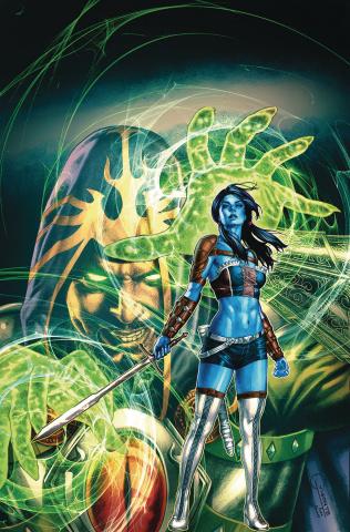 Oz: The Heart of Magic #4 (Vigonte Cover)