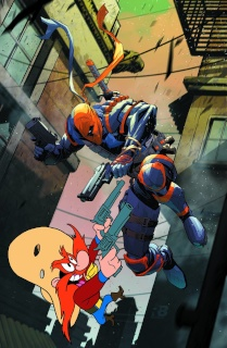 Deathstroke #12 (Looney Tunes Cover)