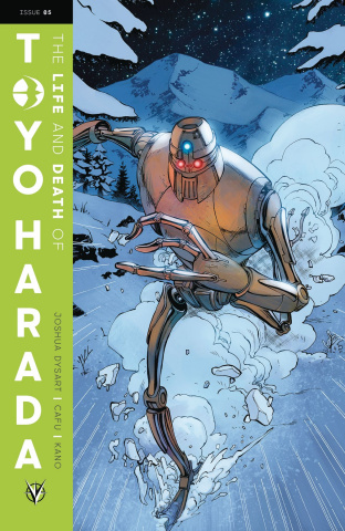The Life and Death of Toyo Harada #5 (Herbert Cover)