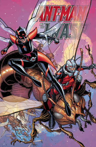 Ant-Man and The Wasp #1 (Bradshaw Cover)