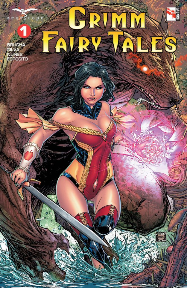 Grimm Fairy Tales #1 (Caldwell Cover)