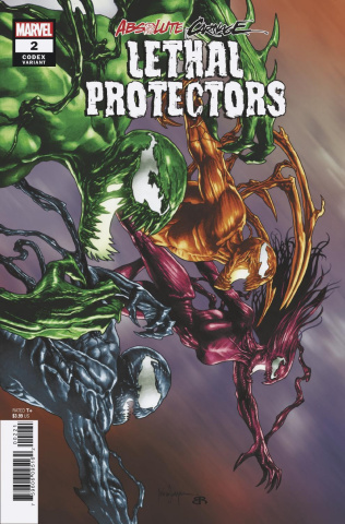 Absolute Carnage: Lethal Protectors #2 (Sauyan Codex Cover)