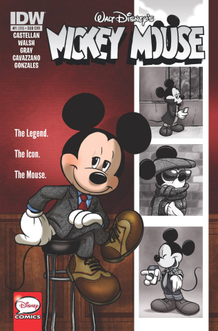 Mickey Mouse #1 (Subscription Cover)
